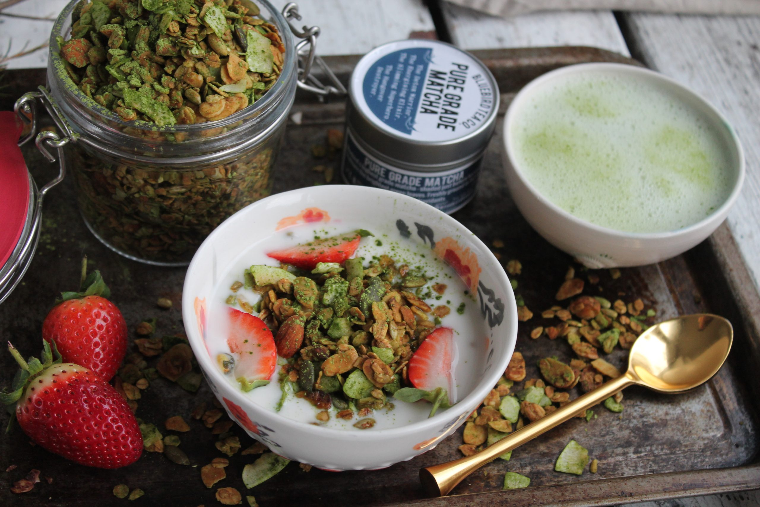 Matcha Green Tea Granola