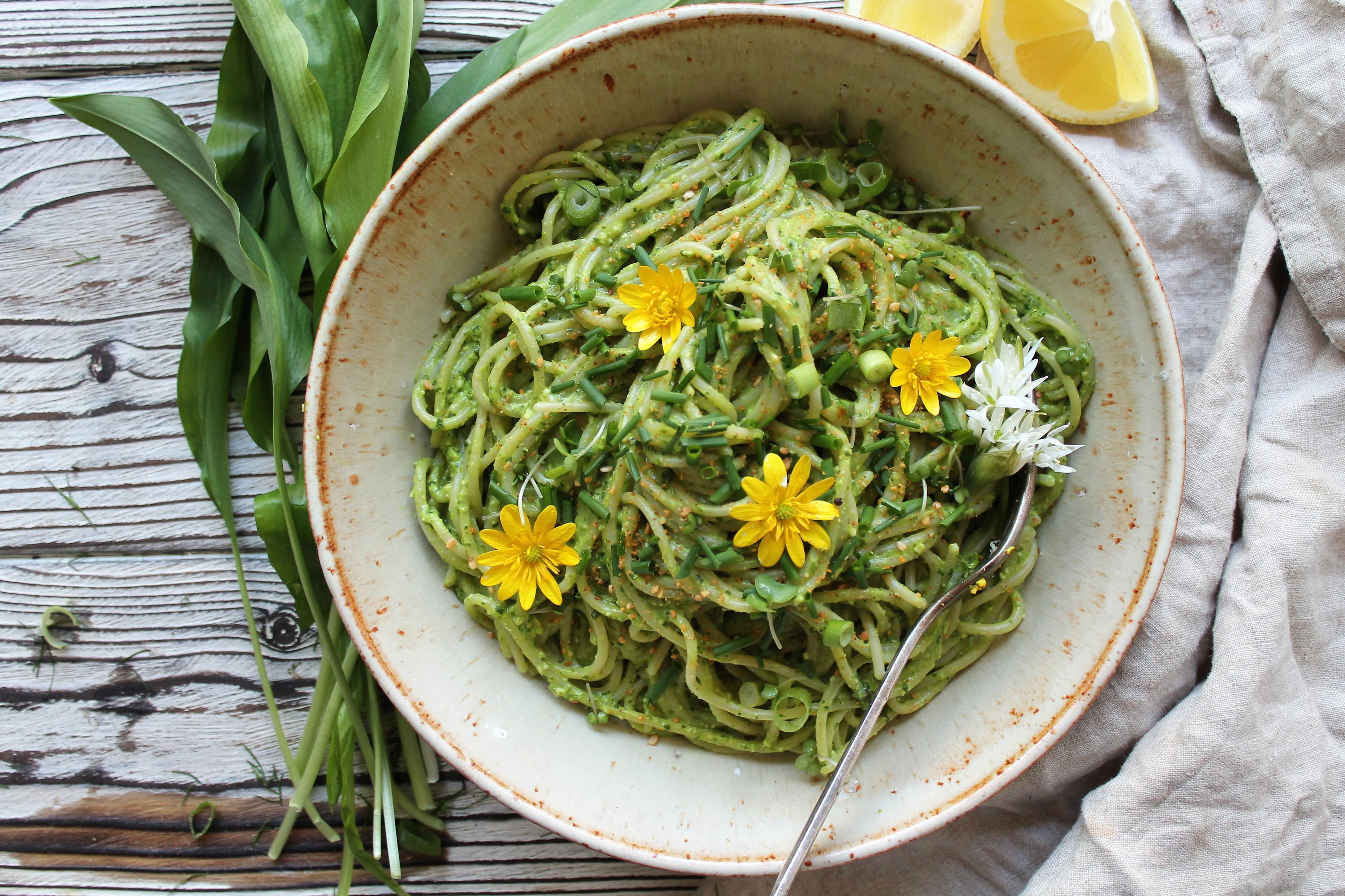 Wild Garlic & Watercress Spring Pesto