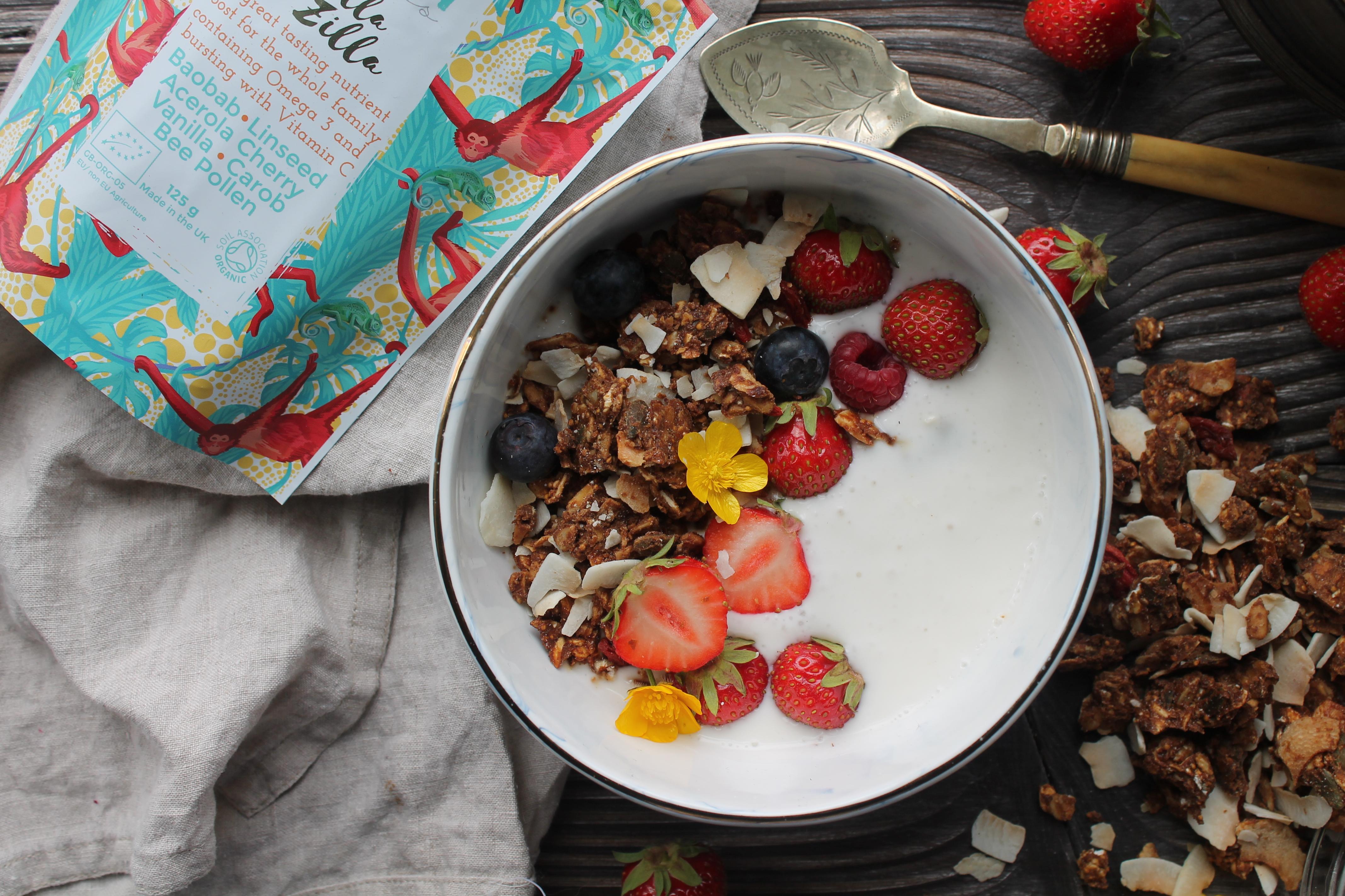 Vanilla & Figs Almond Granola