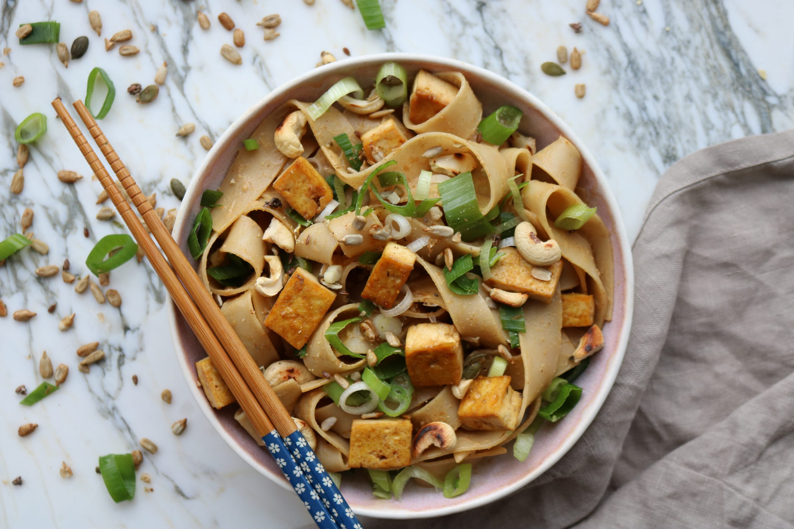 Speedy Tofu Pad Thai