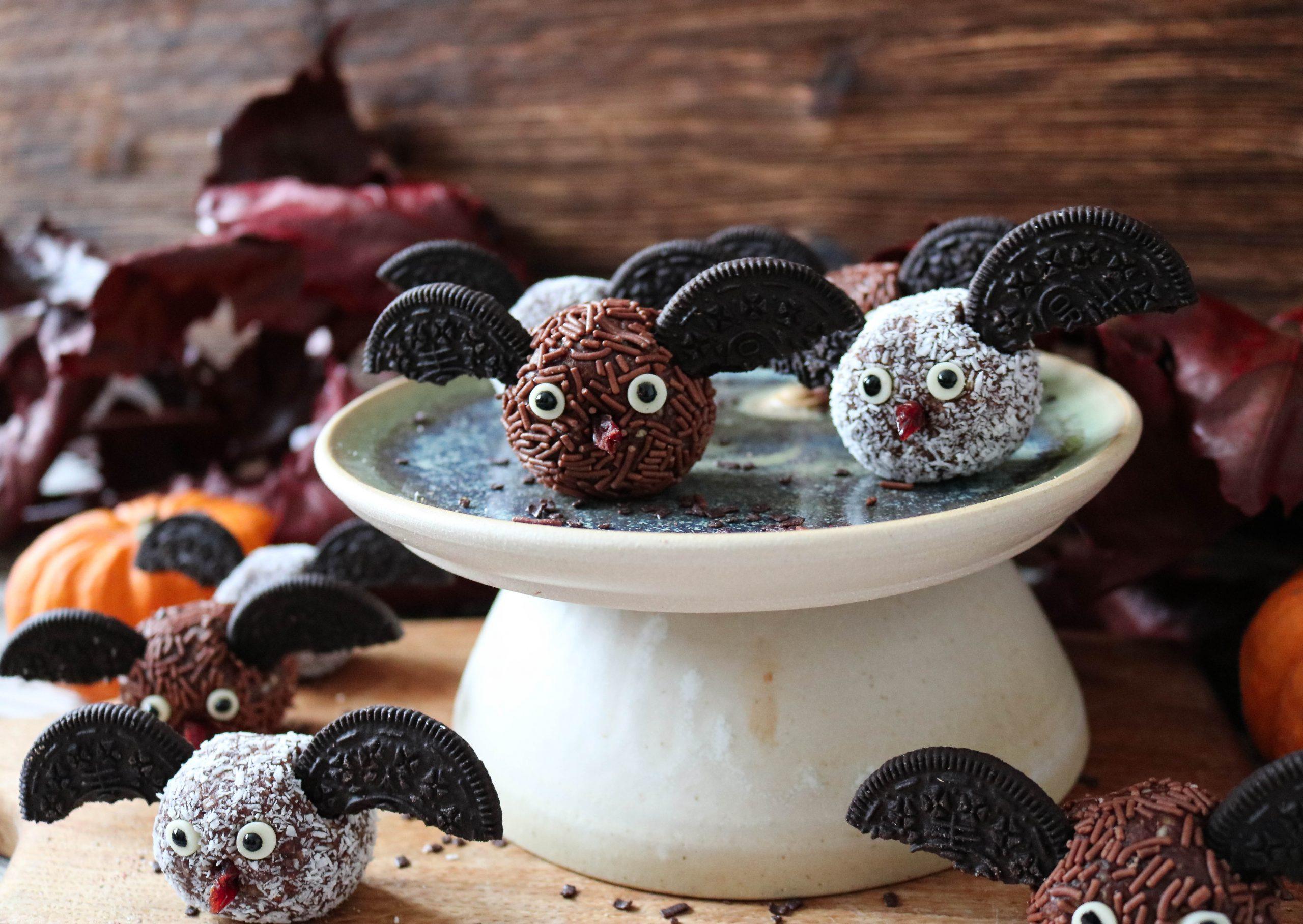 Halloween Chocolate Bats