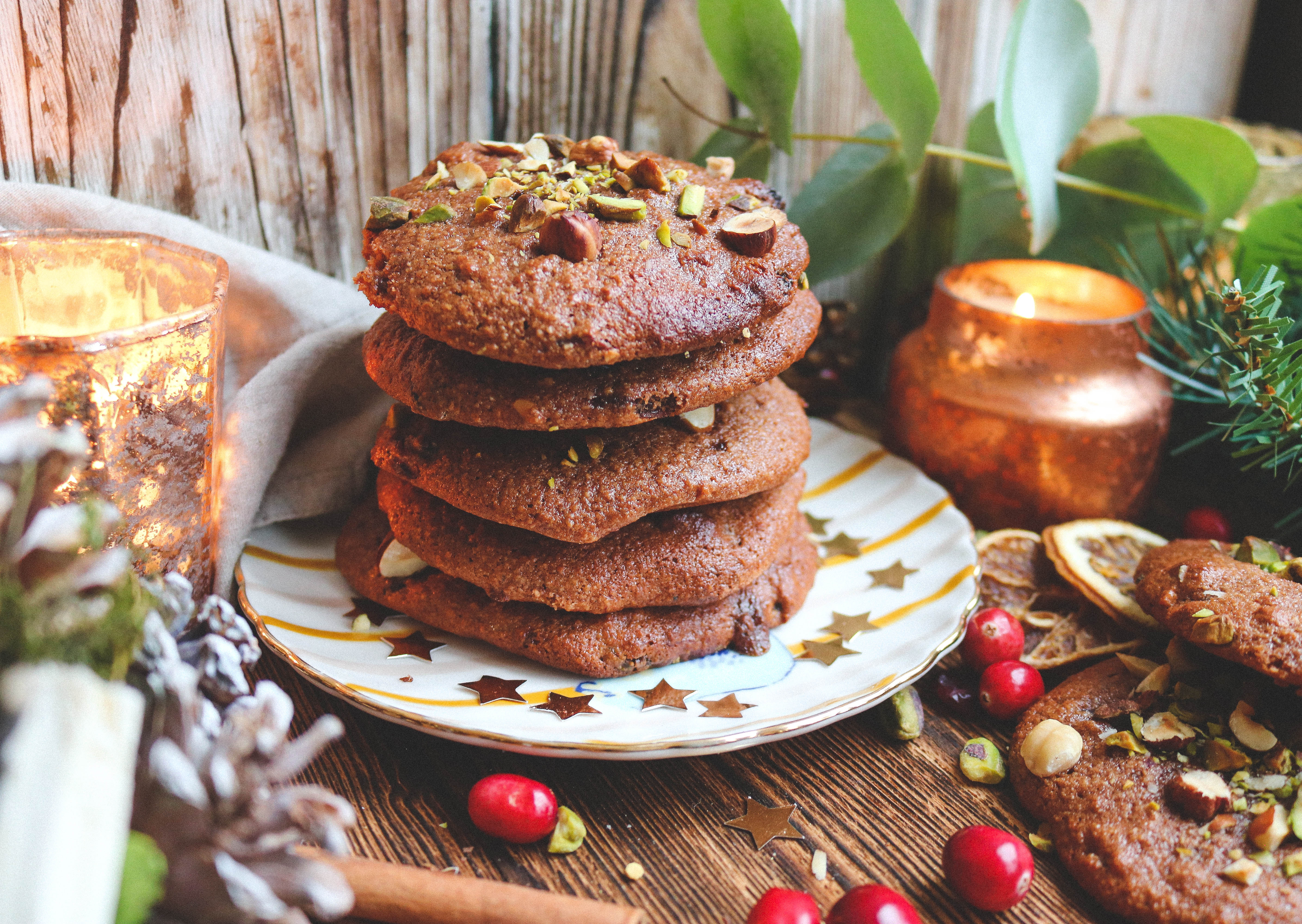 Spiced Orange Christmas Cookies