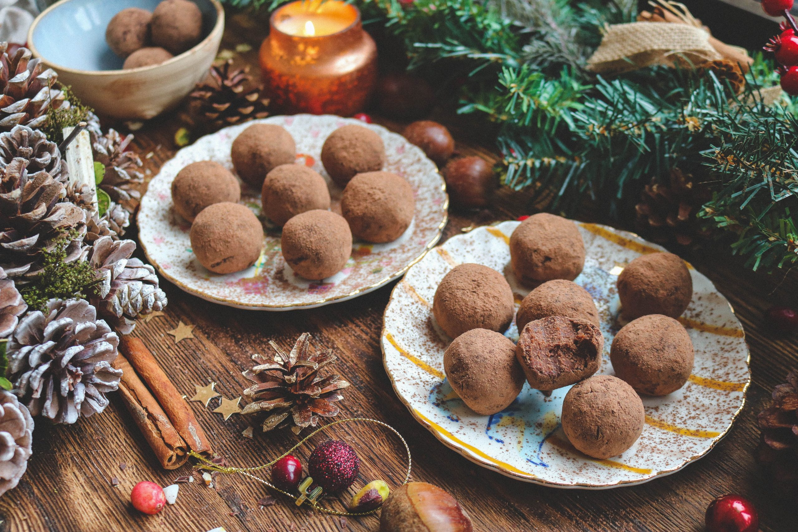 Chocolate & Chestnut Truffles