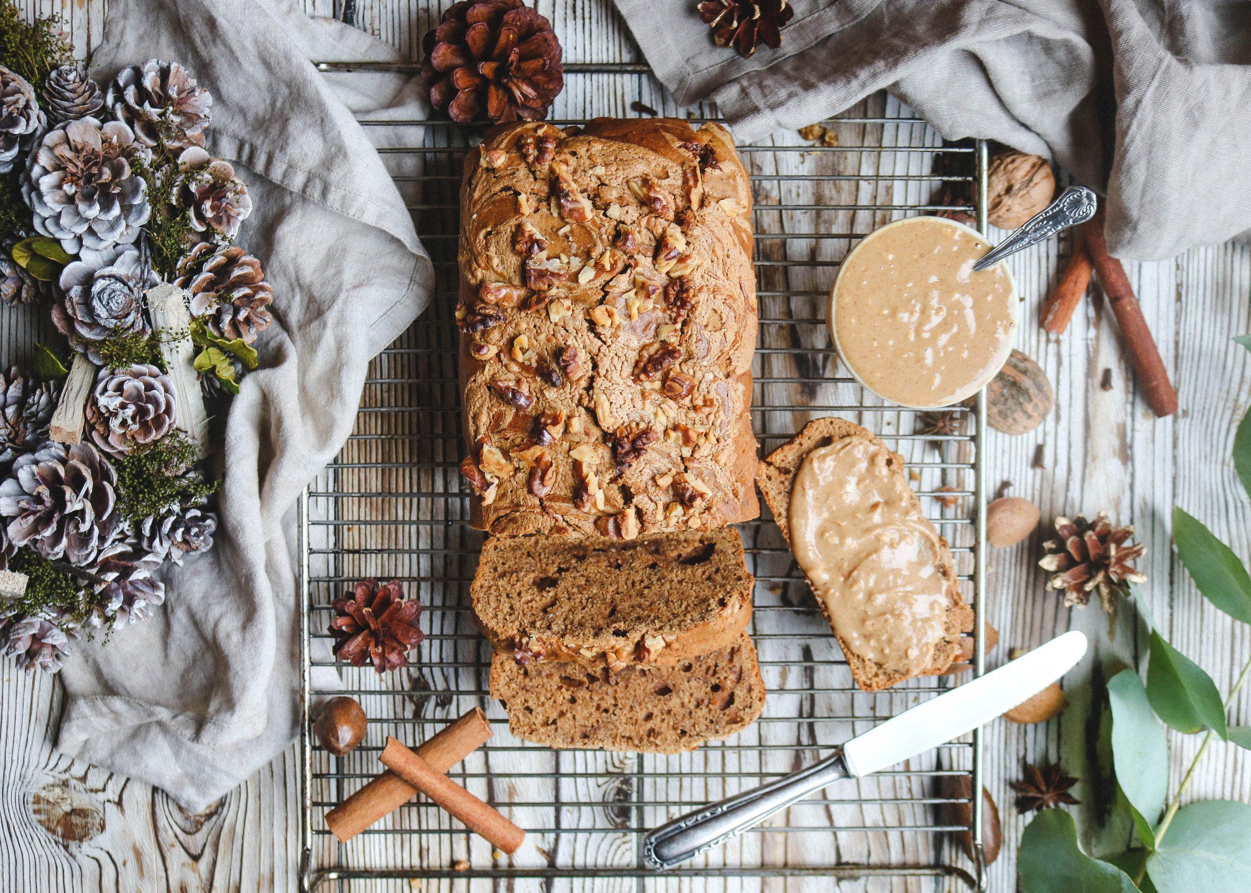 Ginger bread & Peanut Butter Loaf