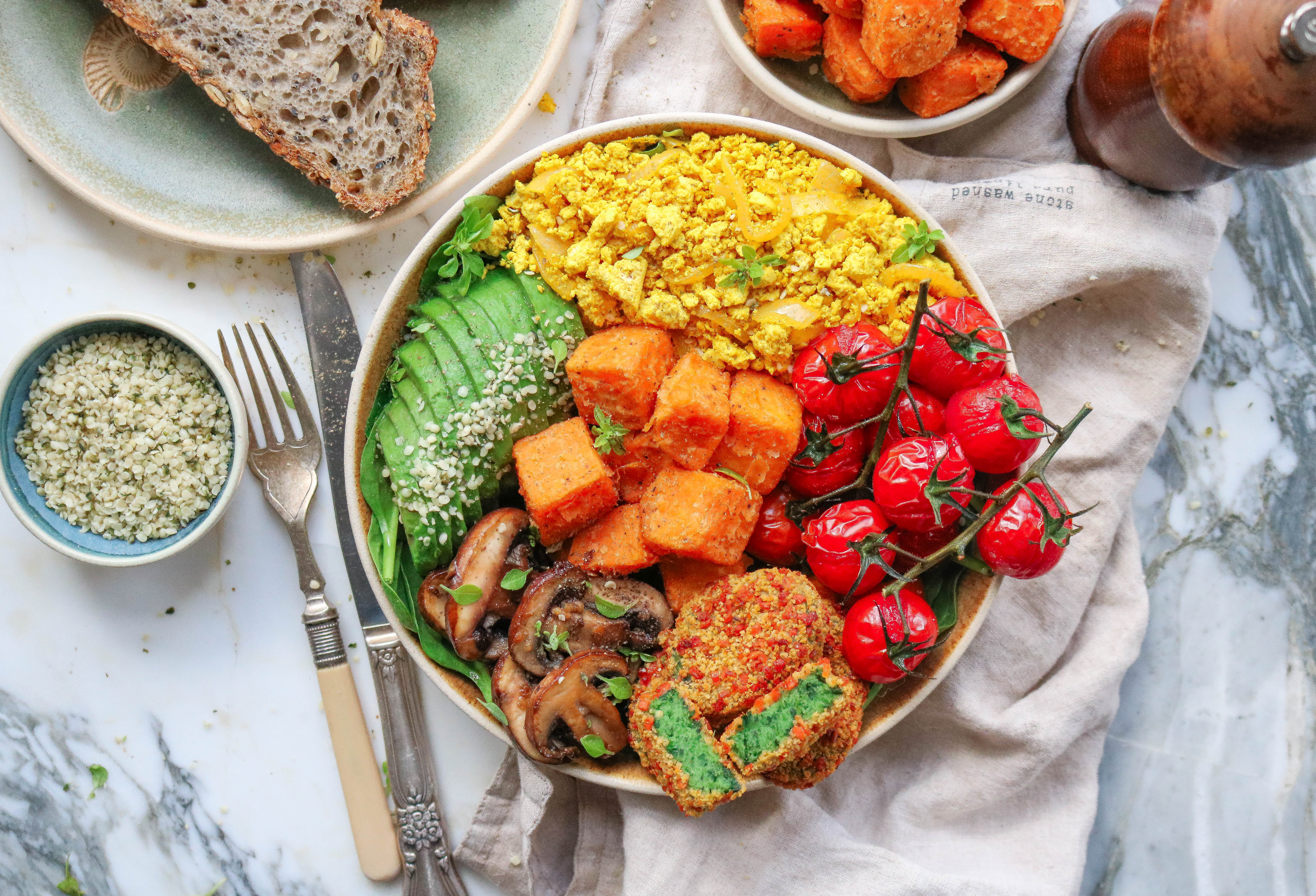 Veggie Loaded Brunch Bowl