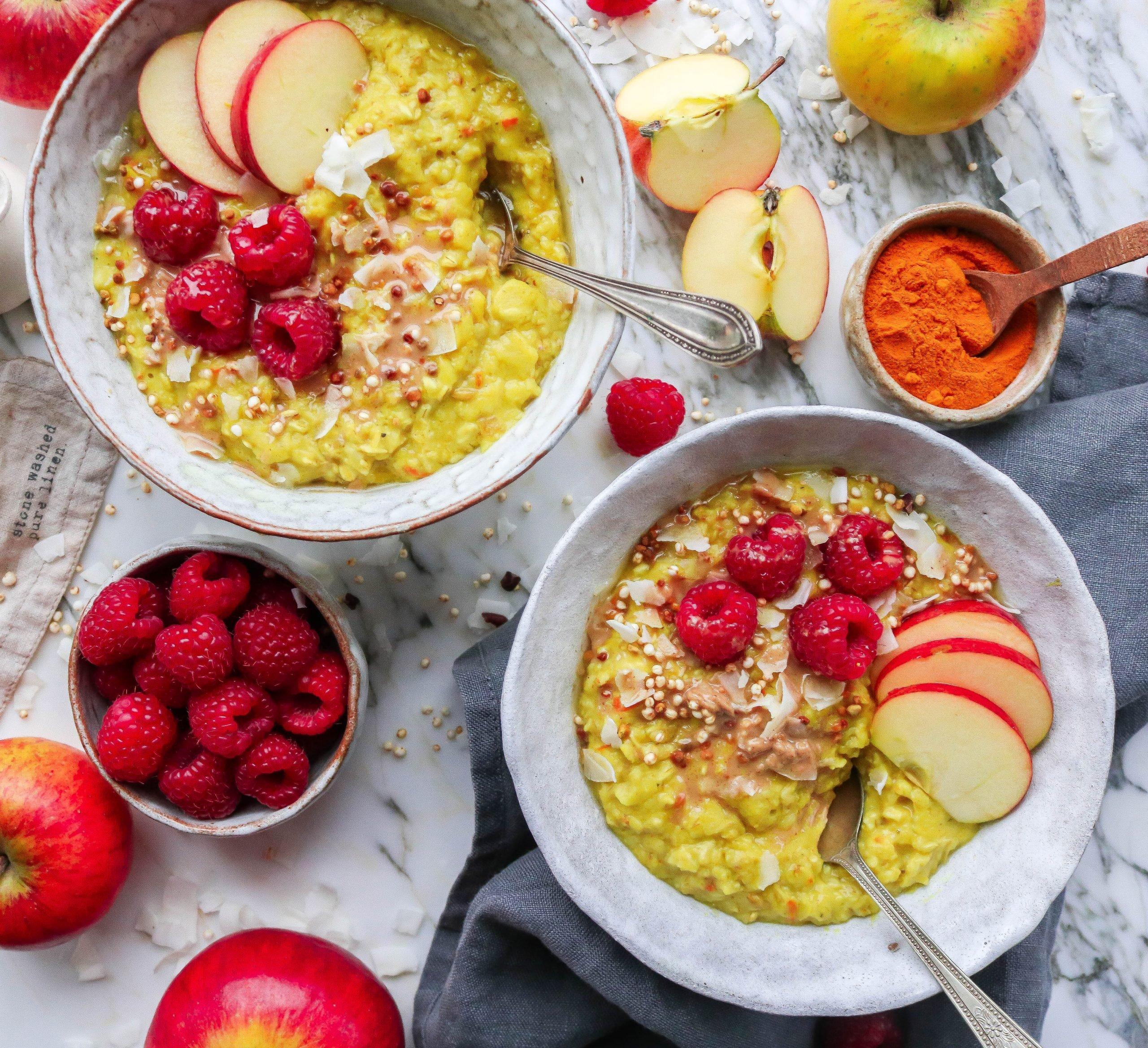 Turmeric & Apple Porridge