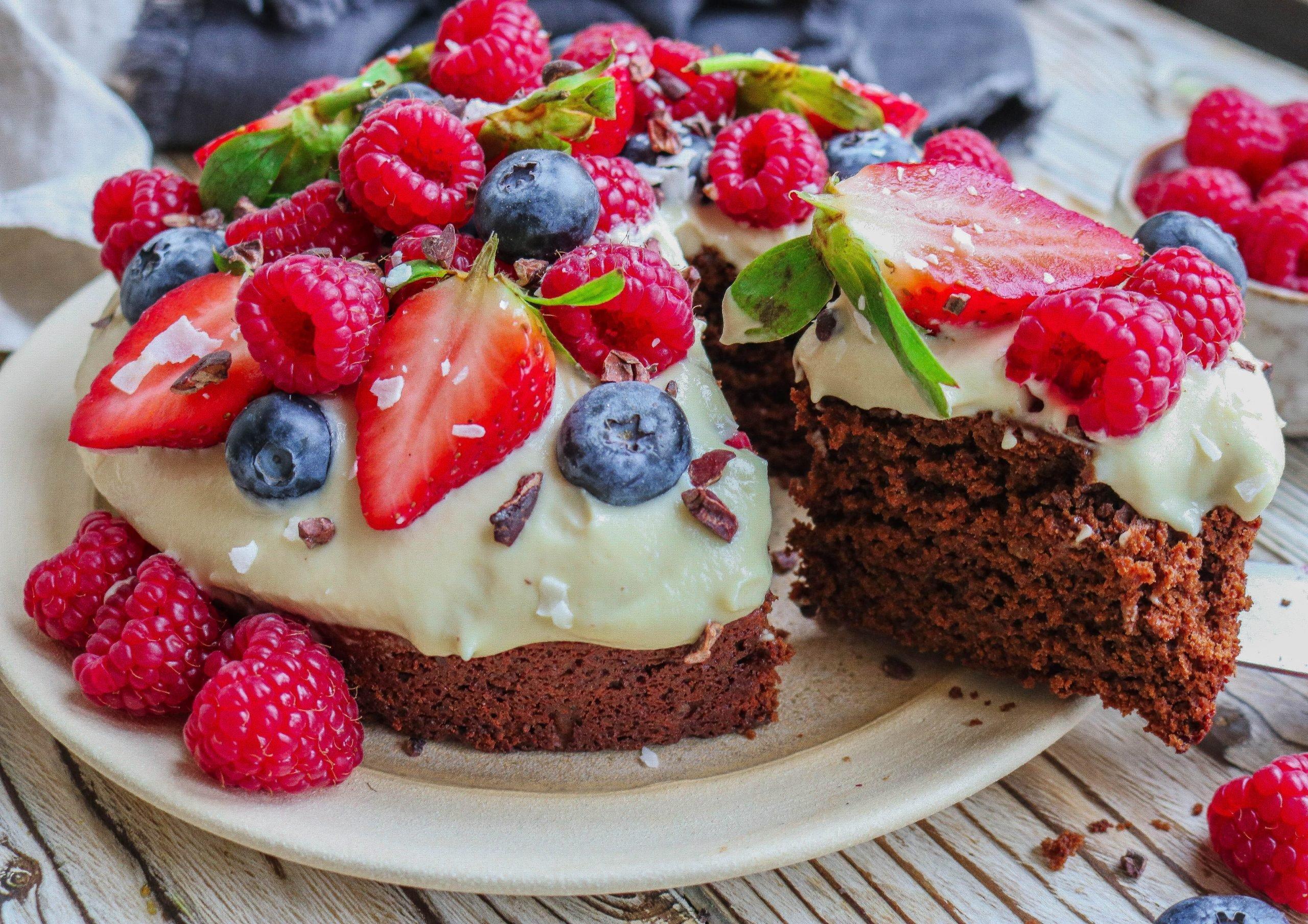 Aquafaba Chocolate Cake