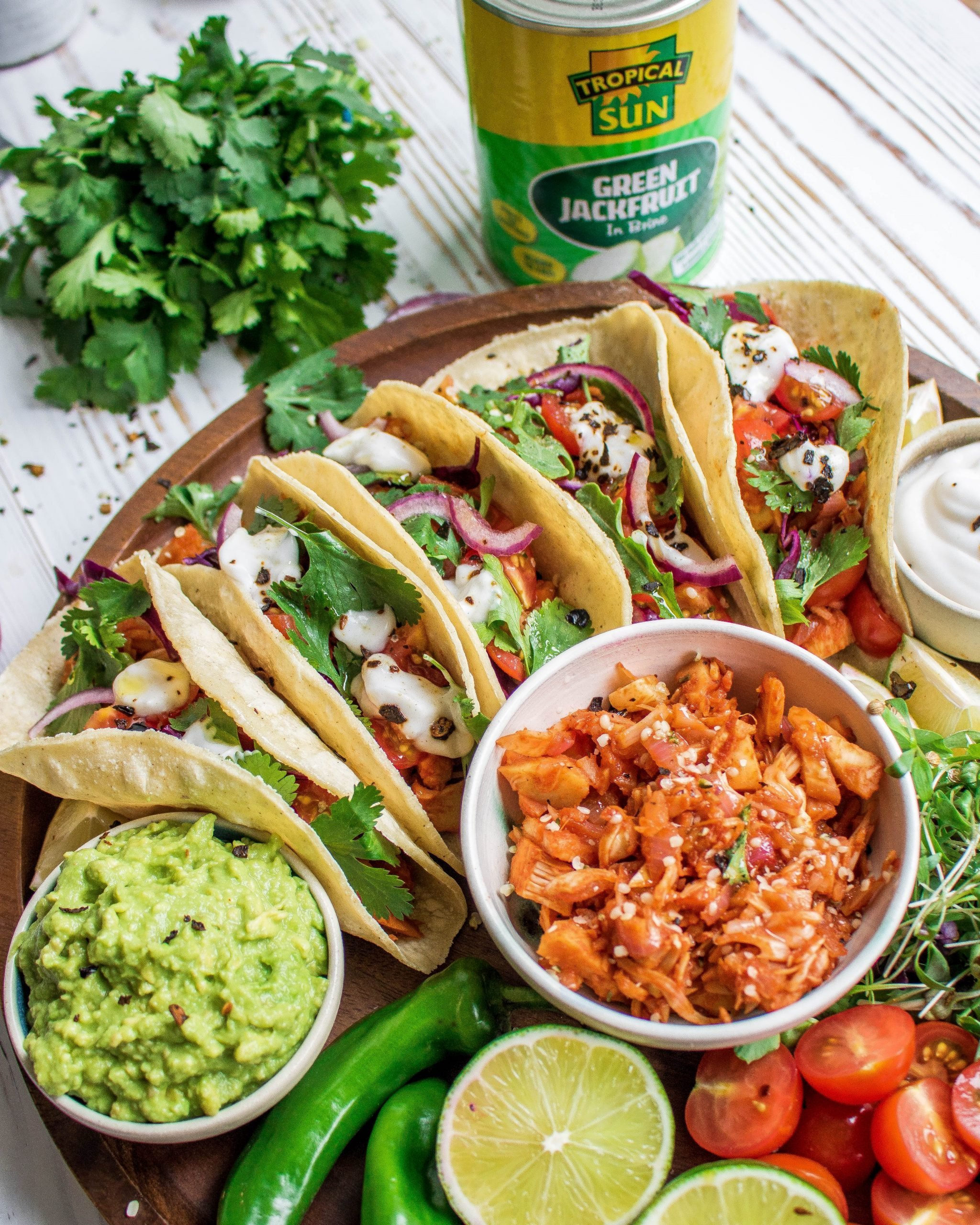 Mexican Pulled Jackfruit Tacos