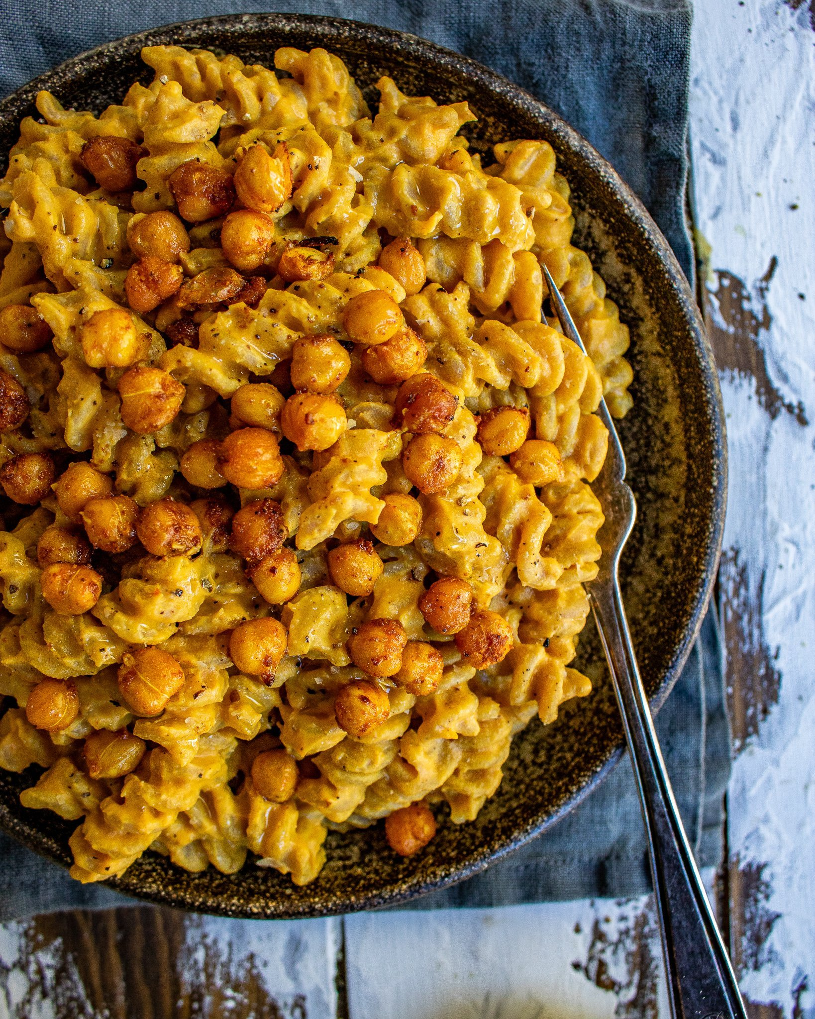 Cheesy Pumpkin Pasta