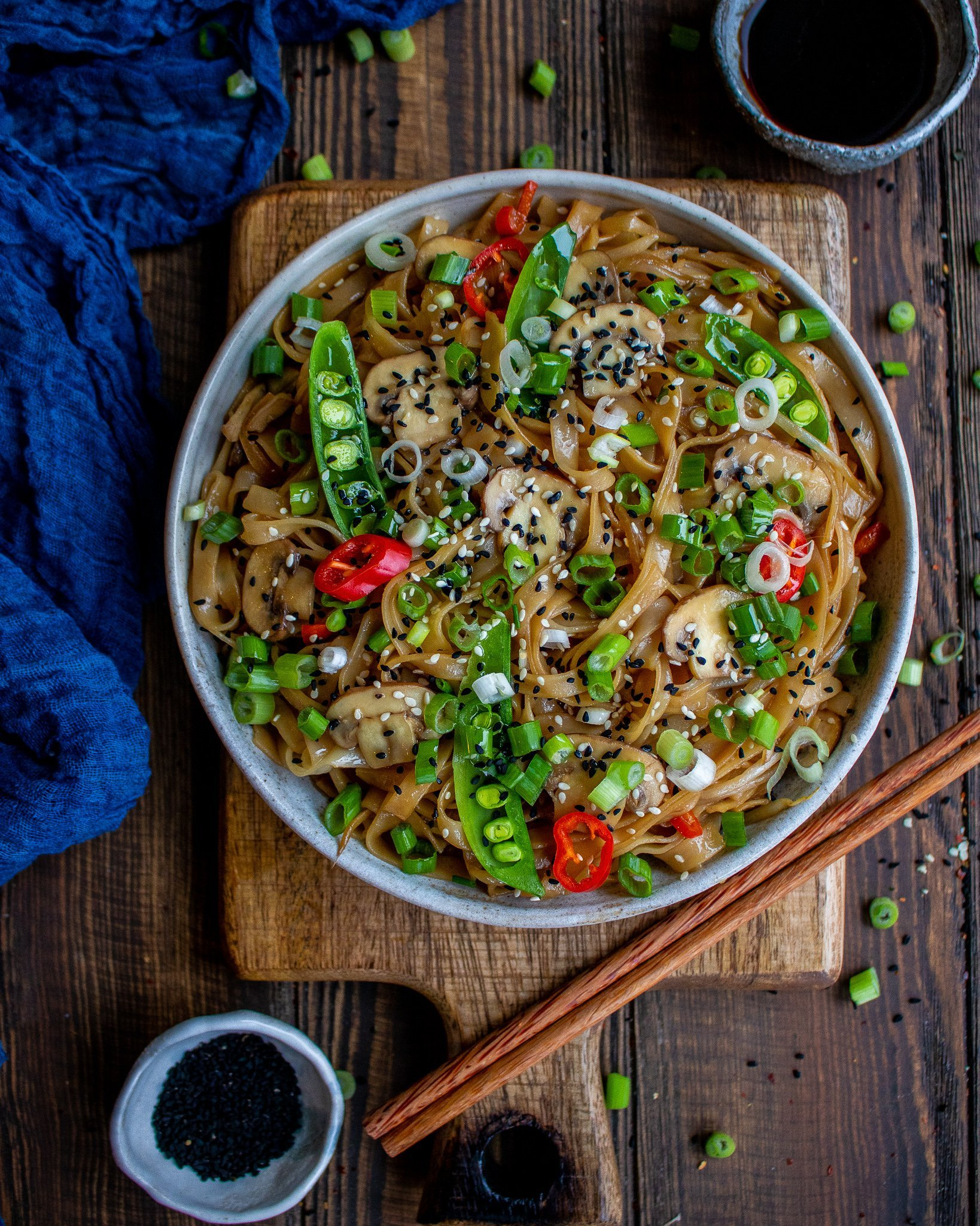 Easy Veggie Chow Mein
