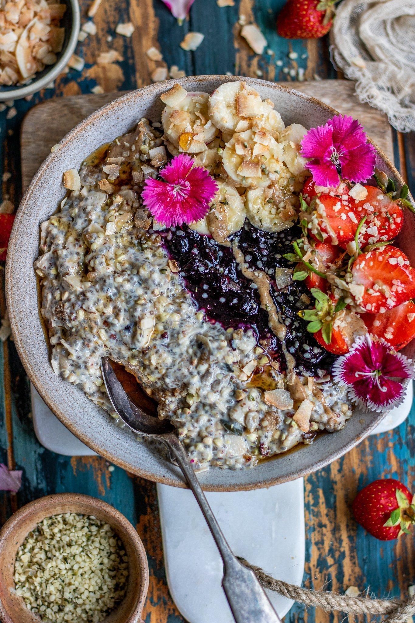 Grain Free High Protein Bircher Muesli