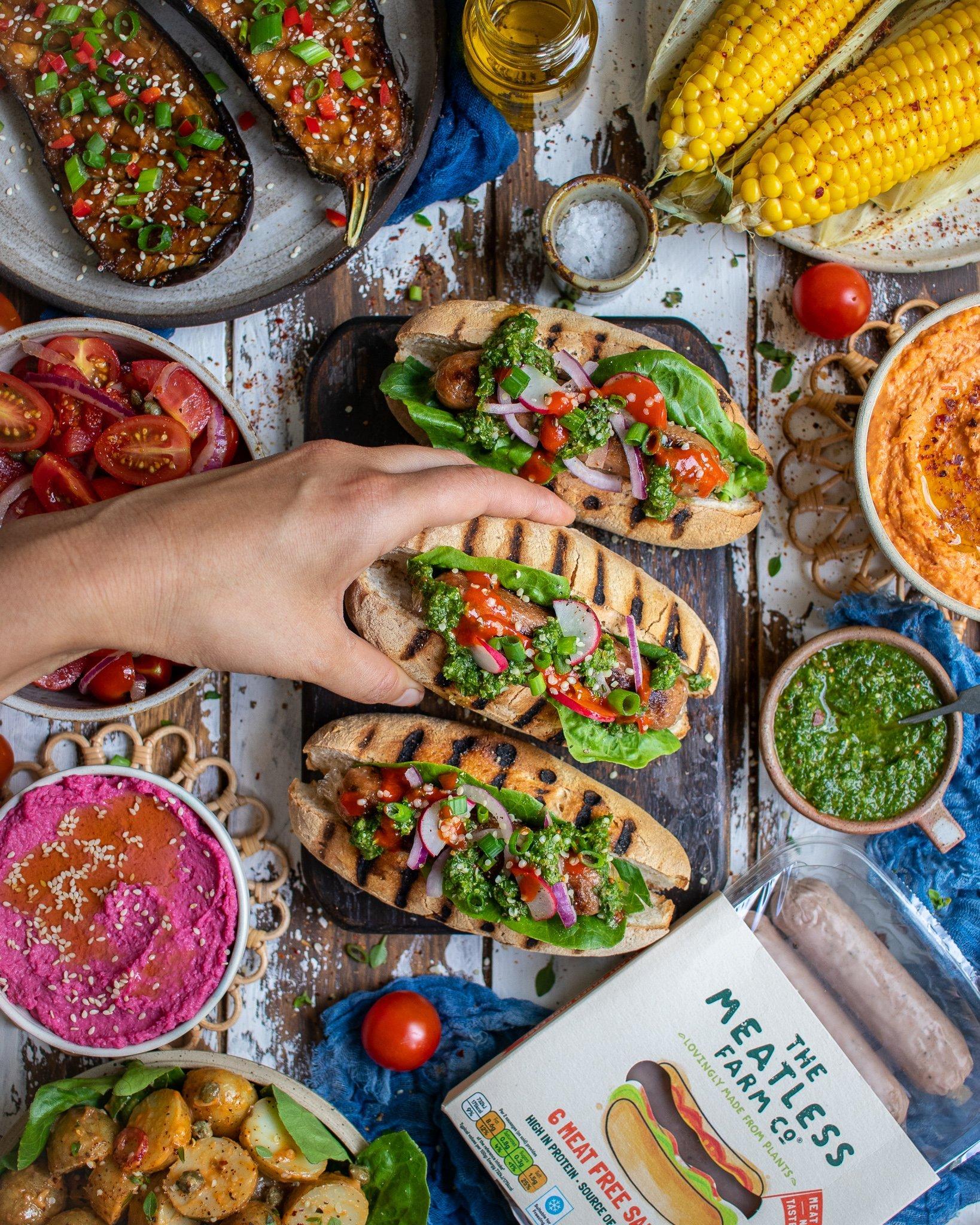 Plant-based BBQ Feast