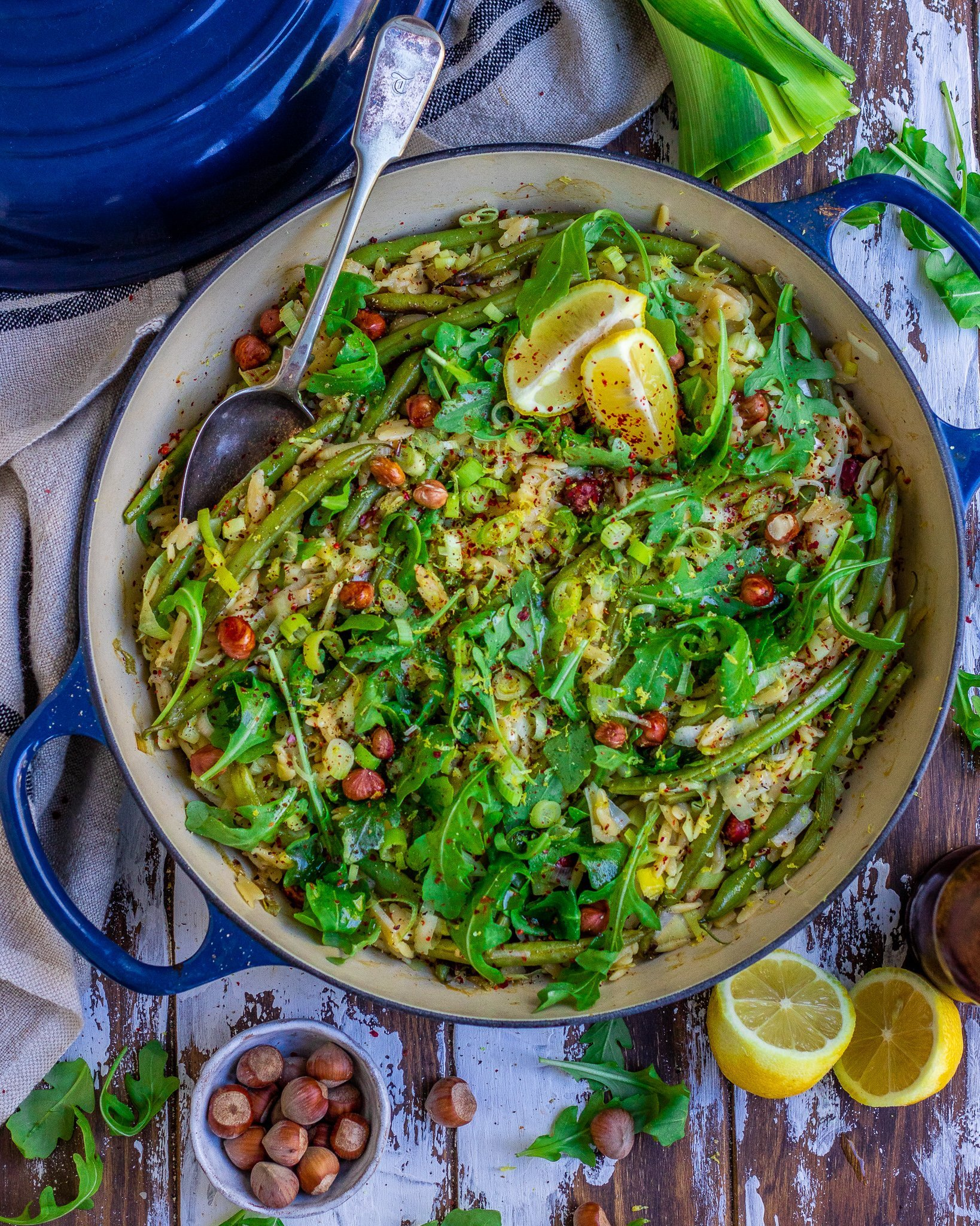 Super Green Orzotto