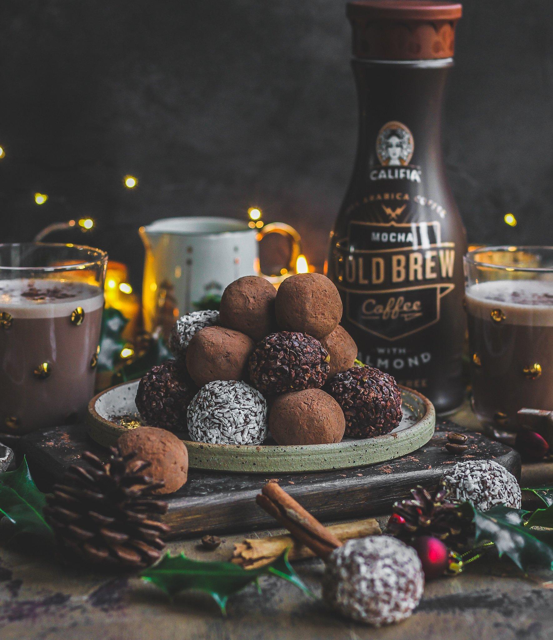 Mocha Christmas Truffles