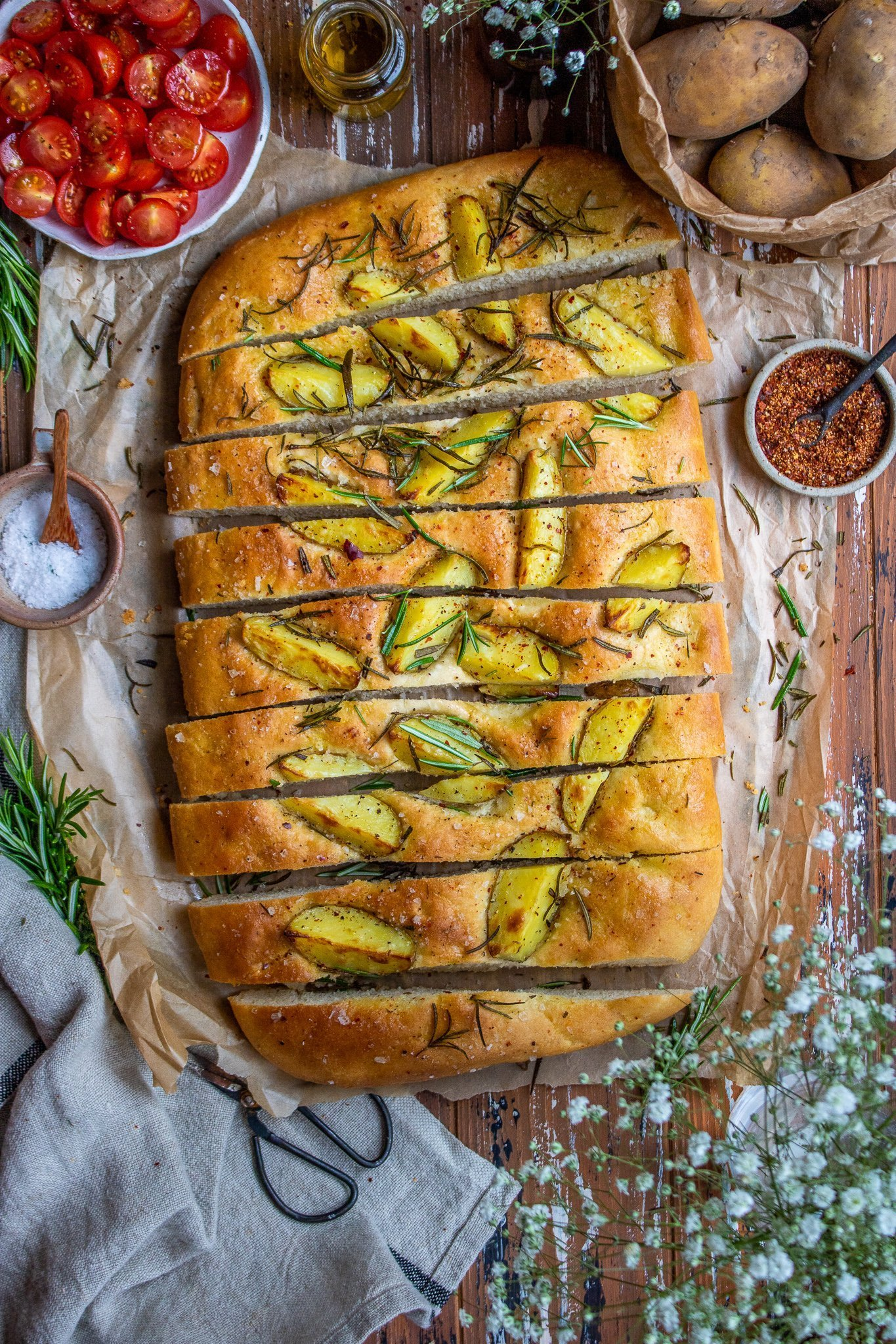 Rosemary & Potato Focaccia