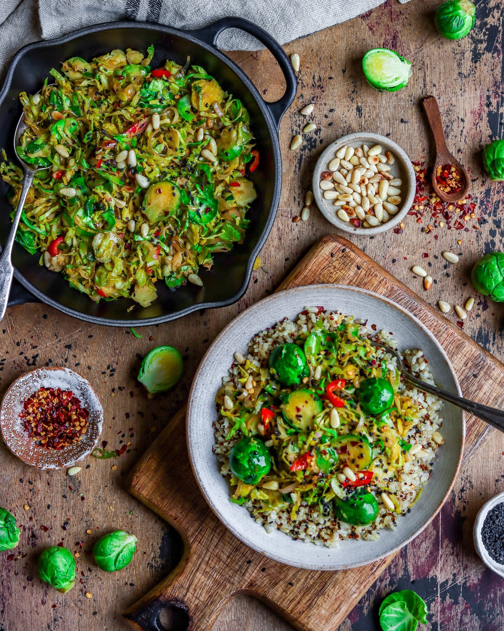 Ginger & Miso Brussel Sprouts