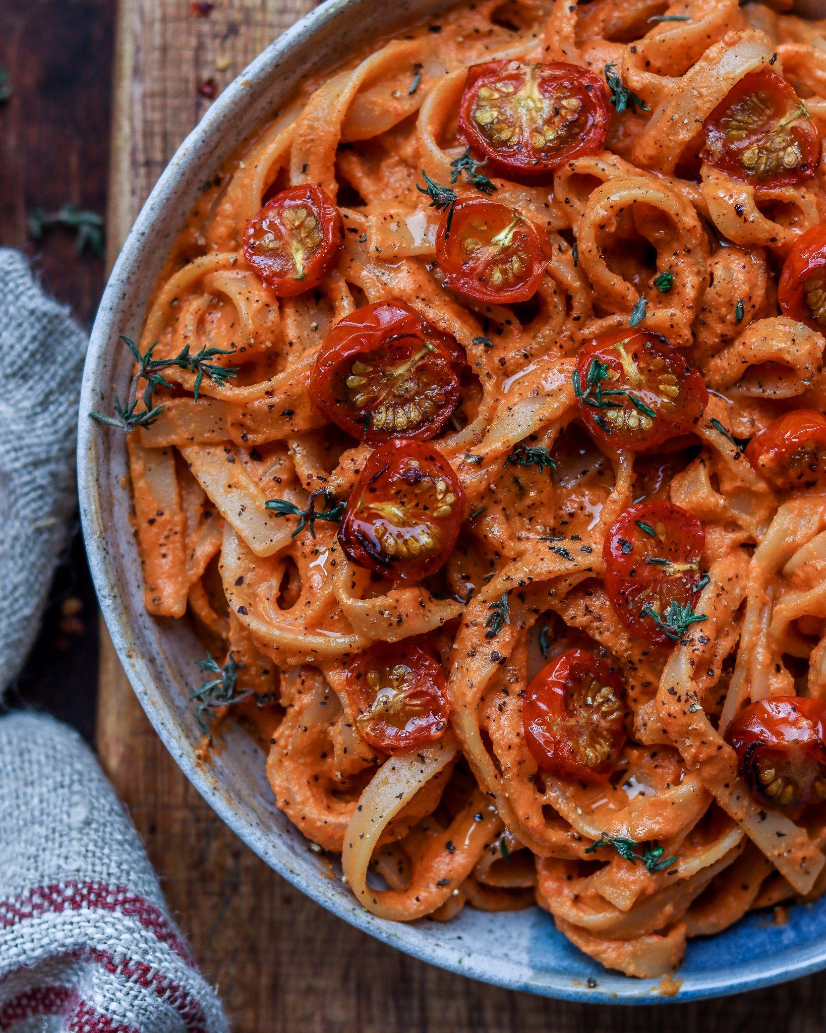 Creamy Tomato & Pepper Pasta