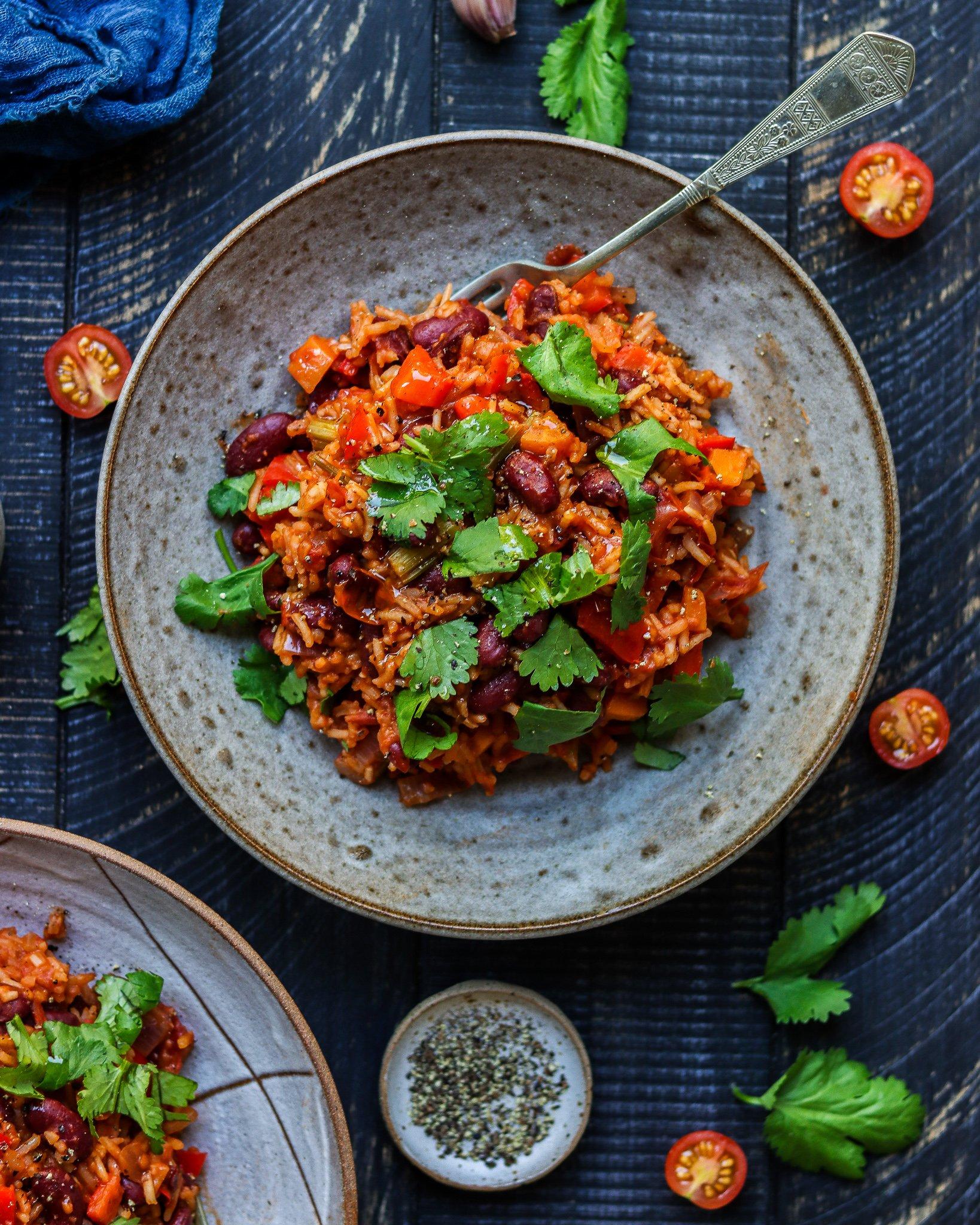 Vegan Jambalaya Rice